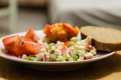 Salate 免版税库存图片