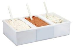 Salate für ein Lebensmittelgeschäft (Weg) Lizenzfreies Stockfoto