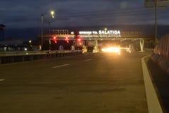 Salatiga платной дороги Стоковое фото RF