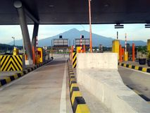 SALATIGA TOLL stock images