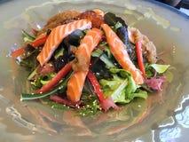 Salatlachse stockbilder