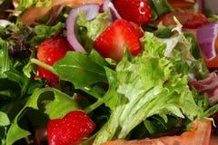 Salatnahaufnahme Lizenzfreies Stockbild
