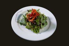 Salatplatte Stockfoto
