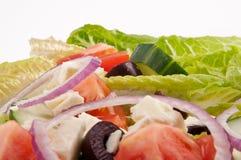 Salatplatte für gesunden Lebensstil Lizenzfreie Stockbilder