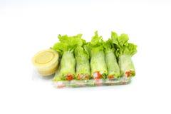 Salatreihe Stockbilder