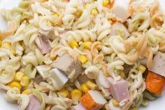 Salatteigwaren Lizenzfreie Stockbilder