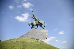 Salavat Yulaev纪念碑 库存照片