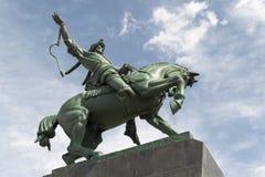 Salavat Yulaev Horse Rider Statue in Ufa Russia Stock Images