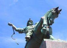 Salavat yulaev monument in ufa russia Royalty Free Stock Photo