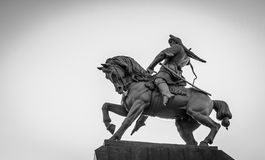 Salavat Yulaev Statue in Ufa Russia Royalty Free Stock Images