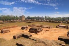 Salban vihara废墟 库存照片