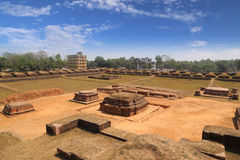 Salban vihara ruin. In Mainamati, Comilla, Bangladesh is one of the best known Buddhist viharas in the Indian Subcontinent and is one of the most important stock photo