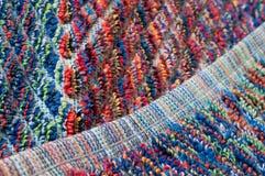 Salband des bunten Terrycloth, Detail Lizenzfreies Stockfoto