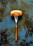 Salchicha asada a la parrilla Imagen de archivo