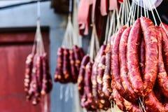 Salchicha de cerdo italiana fotos de archivo libres de regalías