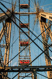 Salchicha de Francfort Riesenrad Fotos de archivo