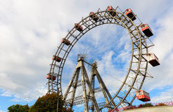 Salchicha de Francfort Riesenrad (rueda gigante de Viena Ferris) Fotos de archivo