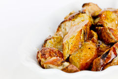 Salchicha del curry imagen de archivo