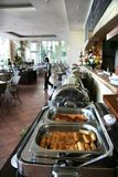 Salchicha en desayuno de la comida fría Fotos de archivo