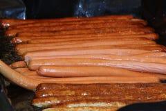 Salchichas Imagen de archivo libre de regalías