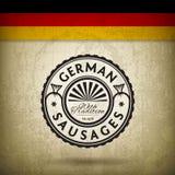 Salchichas alemanas Foto de archivo libre de regalías