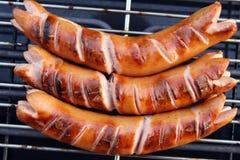 Salchichas de Bratwurst Imagen de archivo libre de regalías
