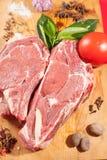 Salchichas de la carne de vaca Imagenes de archivo