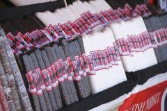 Salchichas tradicionales Imagen de archivo libre de regalías