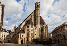 Salciccia Minoritenkirche a Vienna Fotografia Stock Libera da Diritti