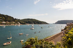 Salcombe Stockbild