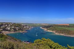 Salcombe Beach Devon England Royalty Free Stock Photography