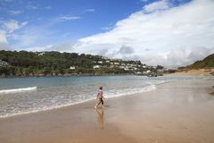 Salcombe, Devon, Angleterre Photos libres de droits
