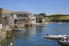 Salcombe, Devon, Inglaterra Imagens de Stock Royalty Free