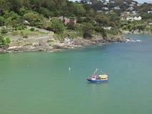 Salcombe ferry, Devon, UK royalty free stock photography
