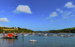 Salcombe Harbor Stock Image