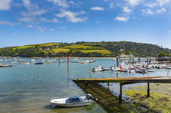 Salcombe Harbor Stock Images