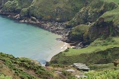 Salcombe Coastline, Devon, UK royalty free stock photography