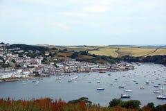 Salcombe Harbour, Devon, UK stock photography