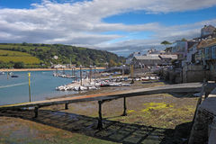 Salcombe Slipwat Stock Photography