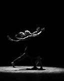 Sald de silhouette-should've, j'aime la danse vous-moderne Photo stock