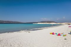 Salda See Burdur die Türkei stockfoto