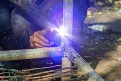 Saldatore del ferro Fotografia Stock Libera da Diritti