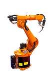 Saldatore del robot Fotografie Stock Libere da Diritti