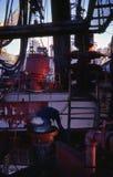 Saldatore dell'impianto di perforazione Fotografia Stock Libera da Diritti