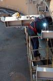 Saldatura e riparazione. Immagine Stock