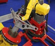 Saldatura robot fotografie stock