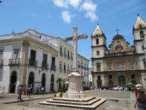 Saldavor dourado de Baía de Brasil da igreja imagem de stock royalty free