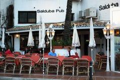 Salduba Bar, Puerto Banus. Royalty Free Stock Photo