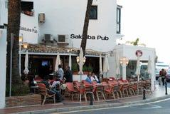 Salduba Bar, Puerto Banus. Stock Photography