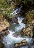 Saldurbach, Tirol sul Fotos de Stock